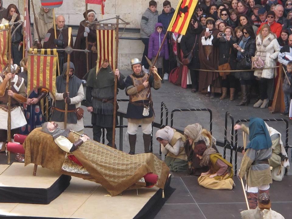 Muerte de Diego en las Bodas de Isabel de Segura