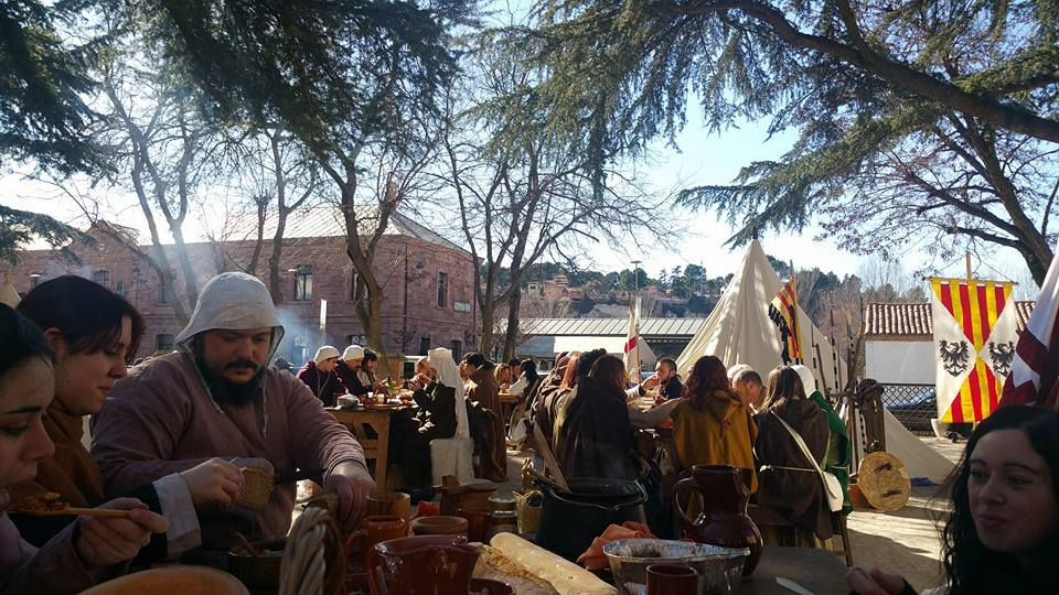 Campamento Almogávar y de las Mesnadas en las Bodas de Isabel de Segura