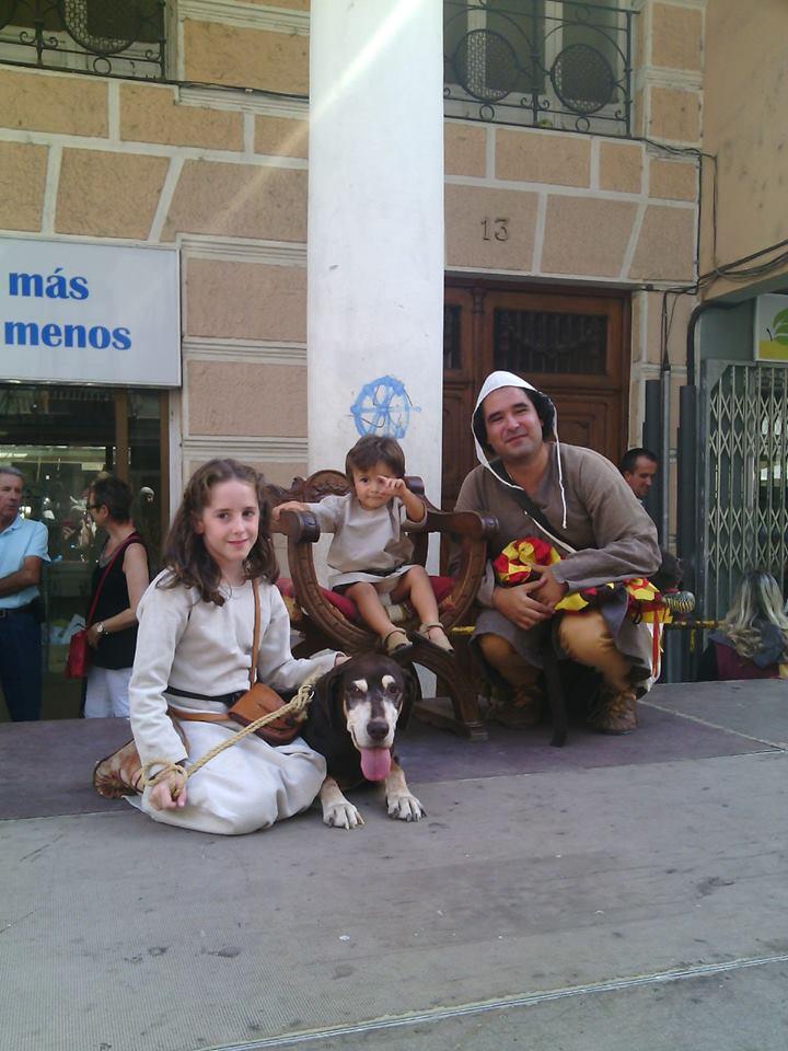 Almogávares de Zaragoza en la Recreación de los esponsales de Ramon Berenguer IV y Petronila de Aragón en Barbastro