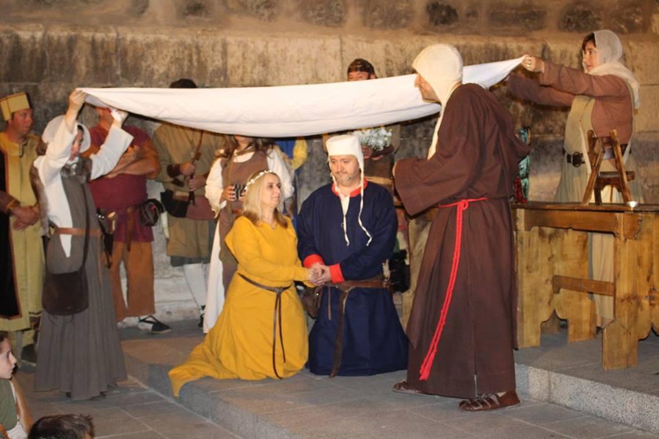Boda medieval en la Partida de Diego