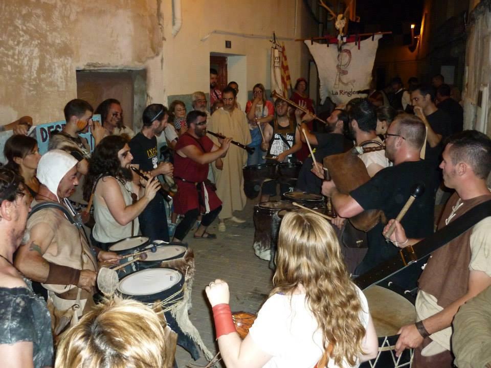 Música medieval en la taberna del Pueyo en el Compromiso de Caspe