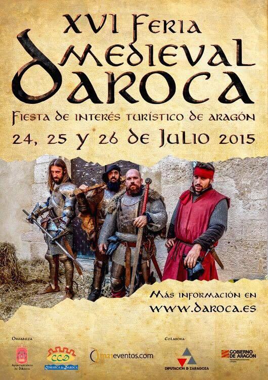 Cartel de la Feria Medieval de Daroca