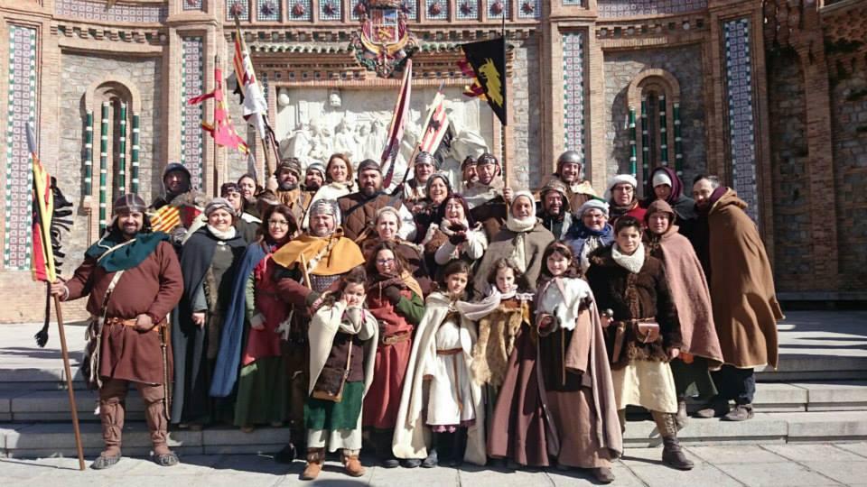 Recreacionistas Almogávares en las Bodas de Isabel de Segura