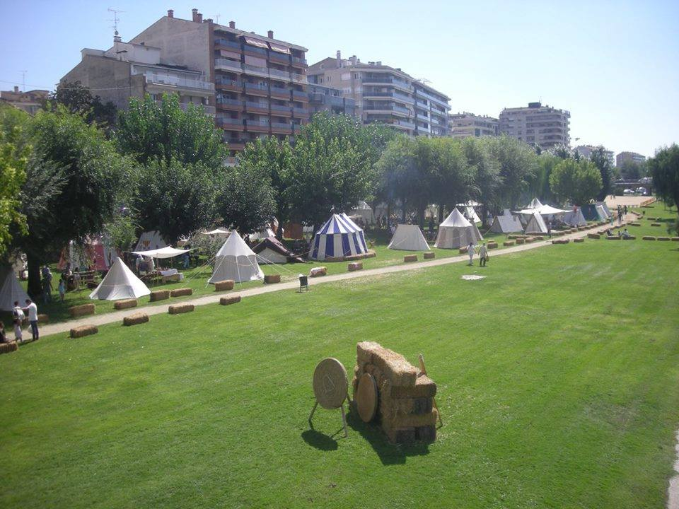 Campamento medieval de Balaguer