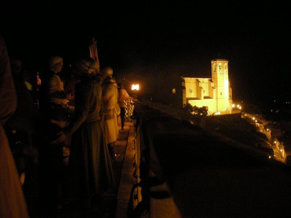 Desfile nocturno de antorchas de Balaguer