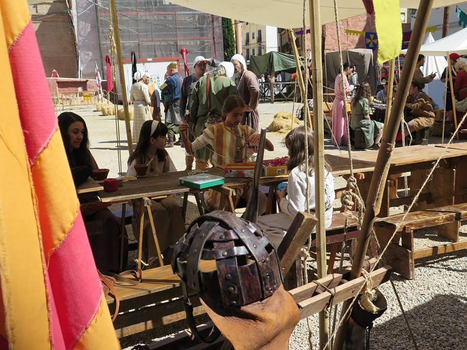 Campamento medieval en las Alfonsadas de Calatayud