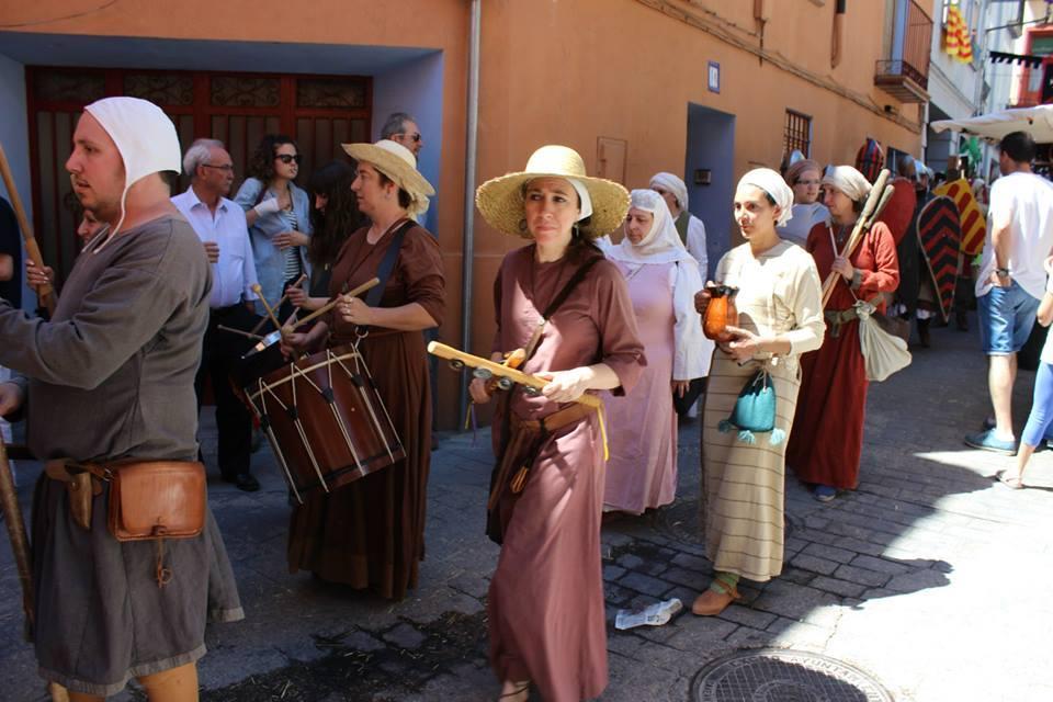 Almogávares de Zaragoza en el desfile de las Alfonsadas de Calatayud