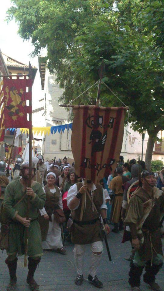 Desfile en las Bodas de Isabel de Segura