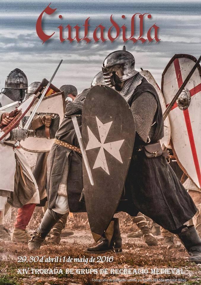 Cartel de Ciutadilla Medieval 2016