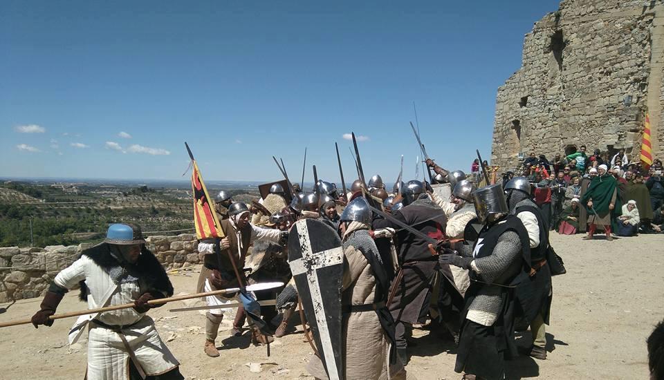 Momento de la batalla de Ciutadilla