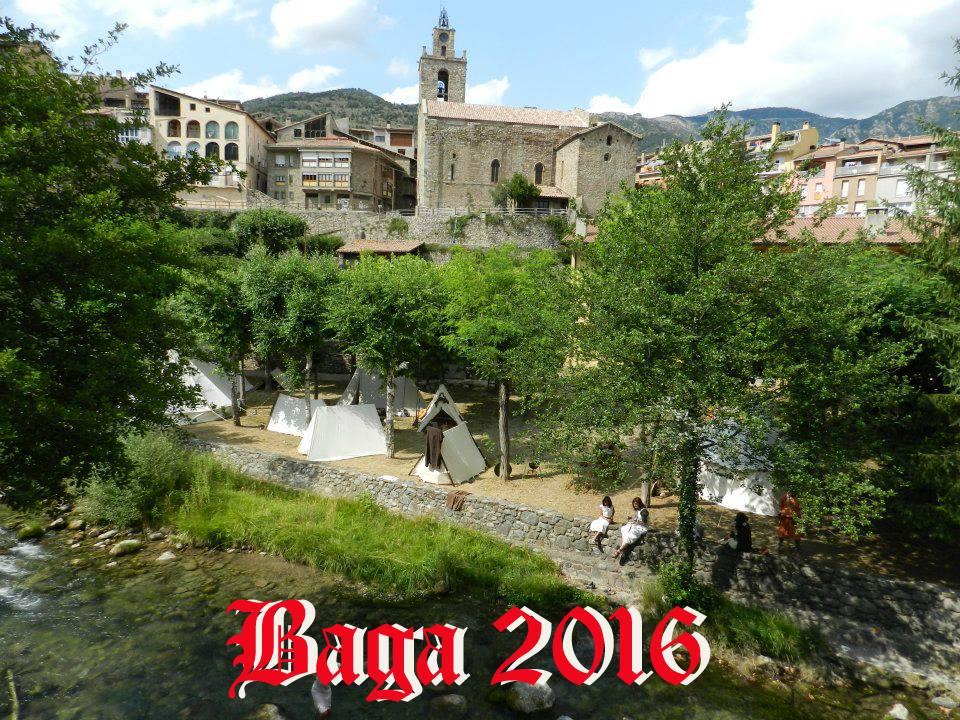 Cartel Bagá medieval 2016