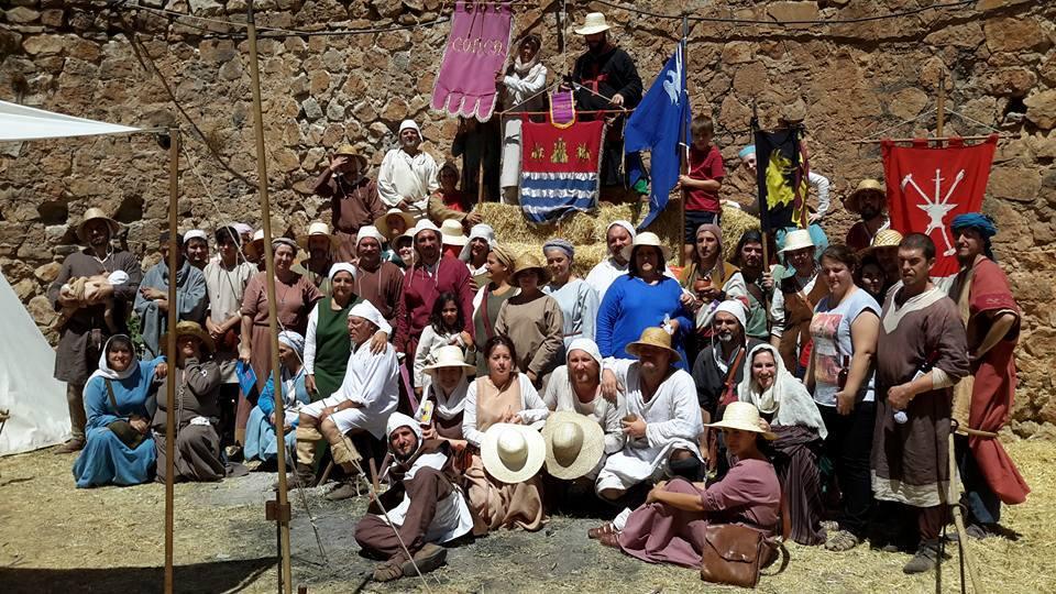 Recreacionistas en la Alvarada de Cañete