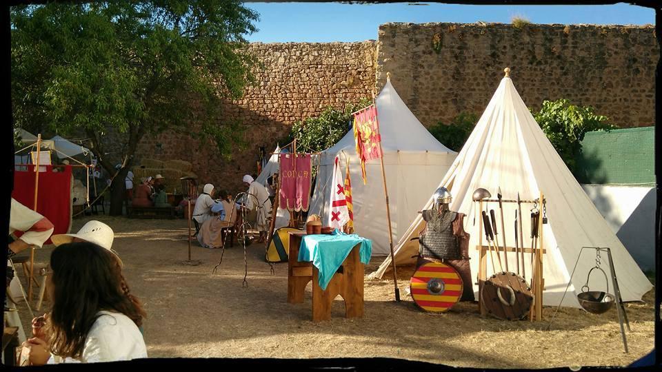 Campamento medieval de la Alvarada de Cañete
