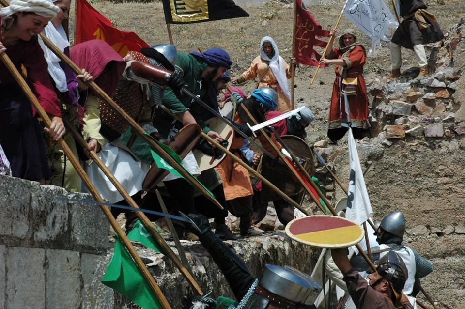 Lucha en las murallas de la Batalla de Alarcos