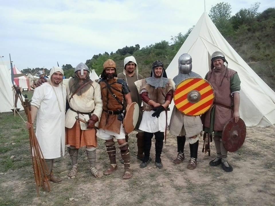 Guerreros almogávares en Ciutadilla