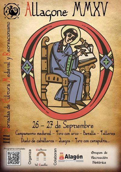 Cartel del evento de Alagón