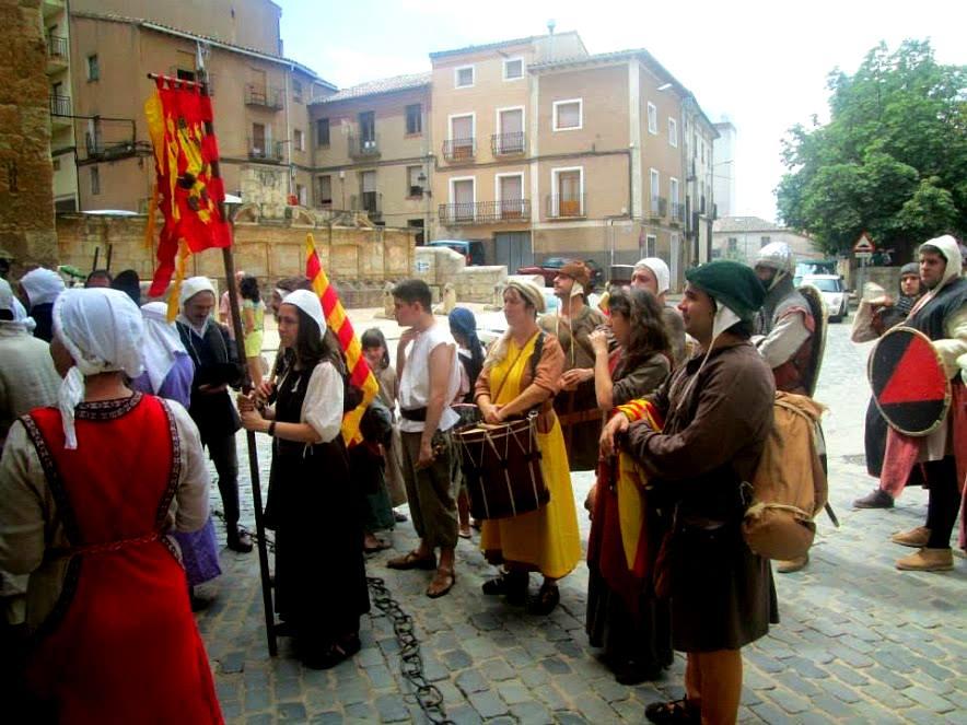Almogávares de Zaragoza en Daroca