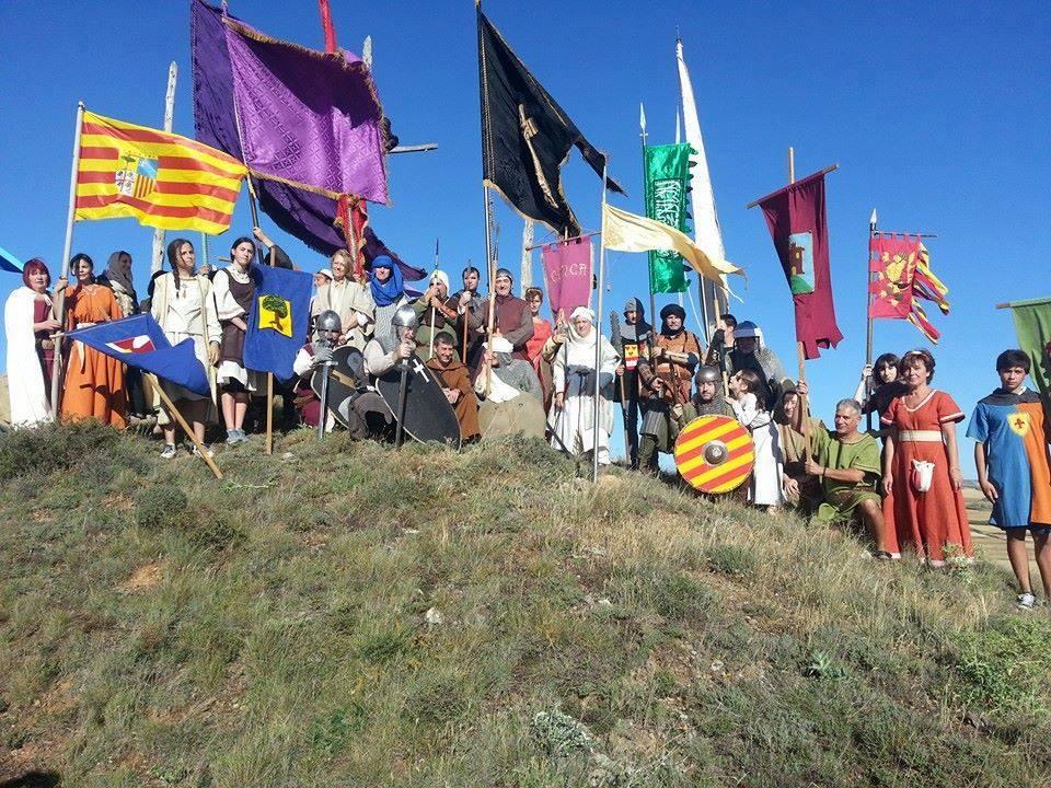 Recracionistas en la Conmemoración de la batalla de Cutanda