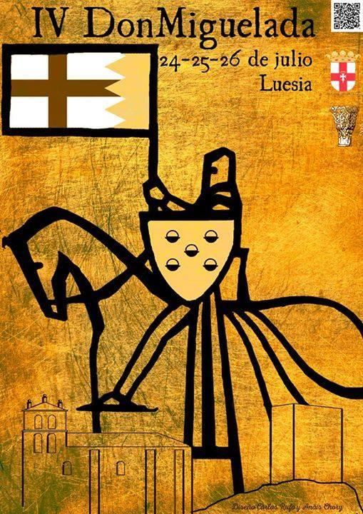 Cartel de l IV Don Miguelada de Luesia