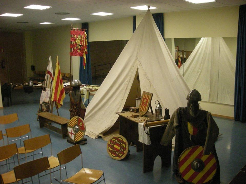 Detalle de la exposición  1118 la conquista de Zaragoza