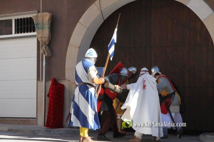 Tropas de Ximén de Urrea, atacan la fortaleza Sarracena de Alcora