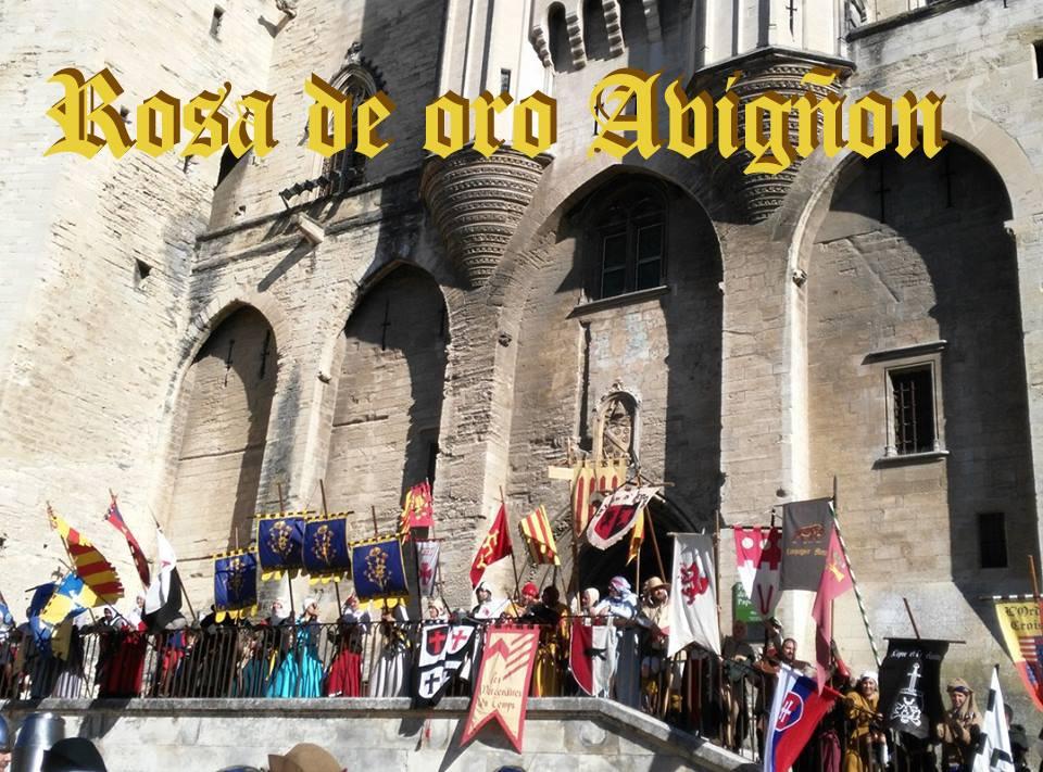Rosa de Oro en Avignon