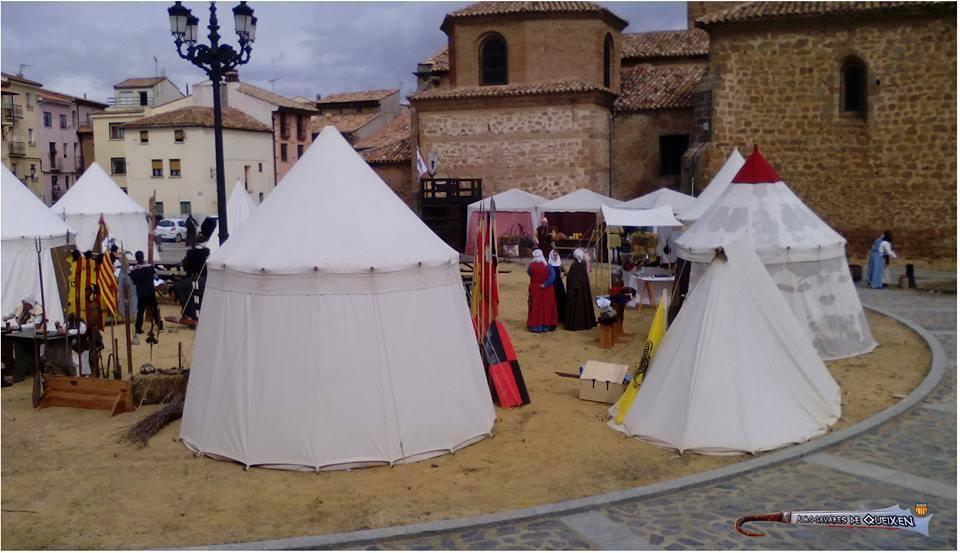 Campamento medieval en los Desposorios de Jaime I y Leonor de Plantagenet en Ágreda