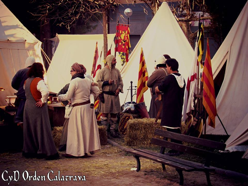 Vida de campamento en Alcora medieval