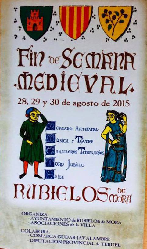 Cartel de Rubielos de Mora Medieval