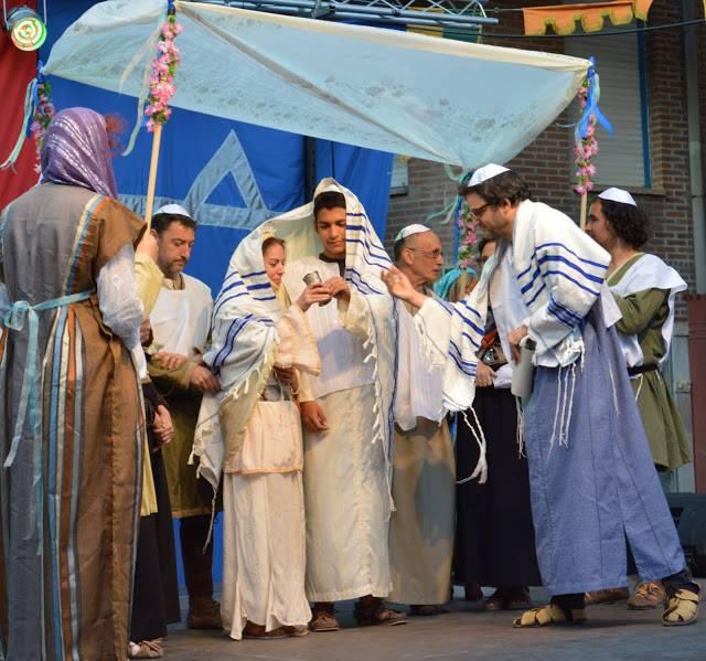 Boda judia en mercado 3 culturas de Zaragoza